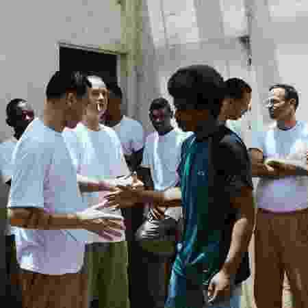 Nego Bala na Penitenciária Desembargador Adriano Marrey Guarulhos 2 - Larissa Zaidan/Divulgação