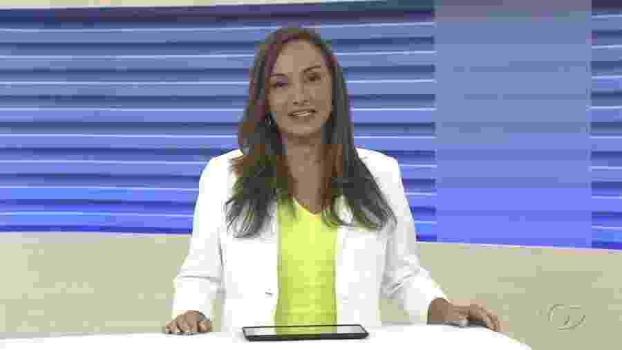 """Liara Nogueira, do """"Bom Dia Alagoas"""", ainda afastada pela direção da Globo Alagoas (TV Gazeta) - Reprodução/YouTube"""