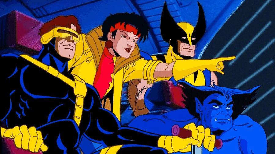 O desenho dos X-Men, lançado em 1992 - Reprodução