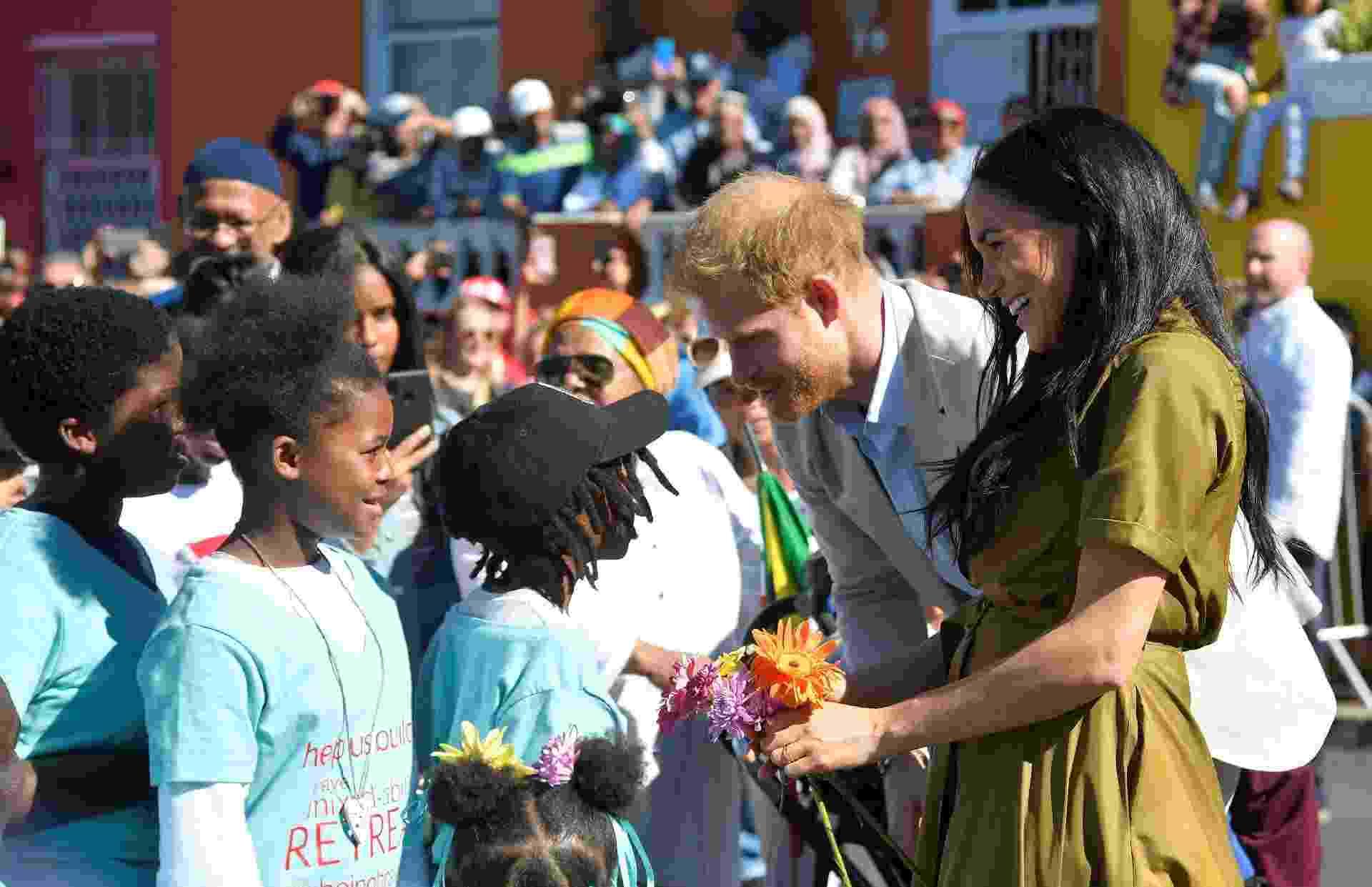 Príncipe Harry e Meghan participam de celebração realizada em Cape Town, na África do Sul - Tobuyty Melvile/Reuters