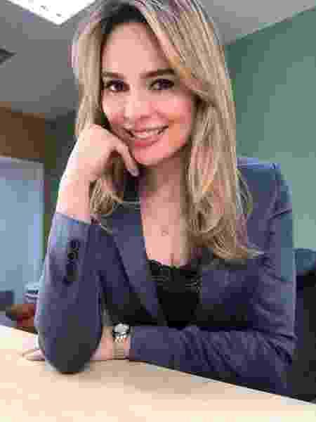 Rachel Sheherazade, do jornalismo do SBT - Divulgação
