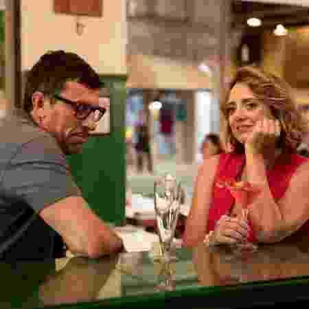 Milhem Cortaz e Letícia Isnard - Victor Pollak/TV Globo - Victor Pollak/TV Globo