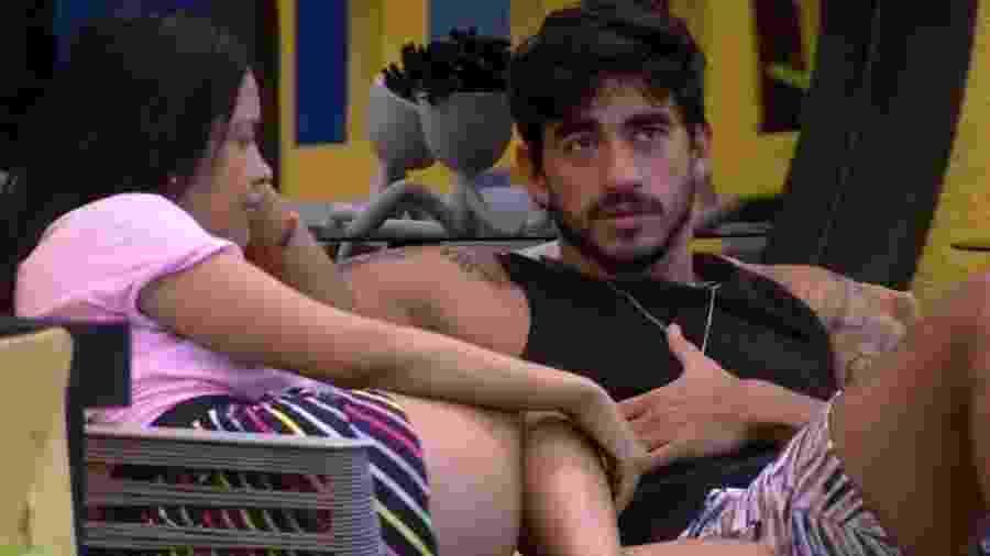 BBB 20: Guilherme confessa a Flay que quer pedir Gabi em namoro - Reprodução/Globo