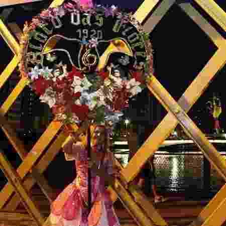 Bloco das Flores desfilará no próximo domingo - Bloco das Flores