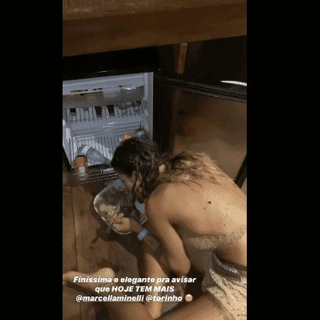 Gabriela Pugliesi mostra noite de bebedeira antes de casamento da irmã - Reprodução/Instagram - Reprodução/Instagram