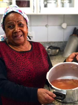 """Lucia Malaquias, a """"segunda mãe"""" se Ana Luiza - Arquivo pessoal"""