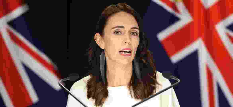 Jacinda Arden, primeira-ministra da Nova Zelândia: recorde de popularidade por ação rápida durante a pandemia  - Getty Images