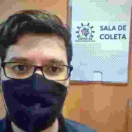 Alberto Freitas - voluntário vacina de oxford - Arquivo pessoal - Arquivo pessoal