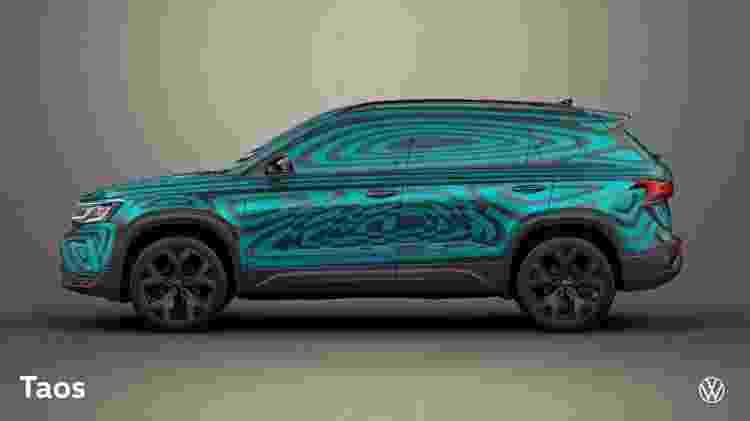 VW Taos 3 - Divulgação - Divulgação