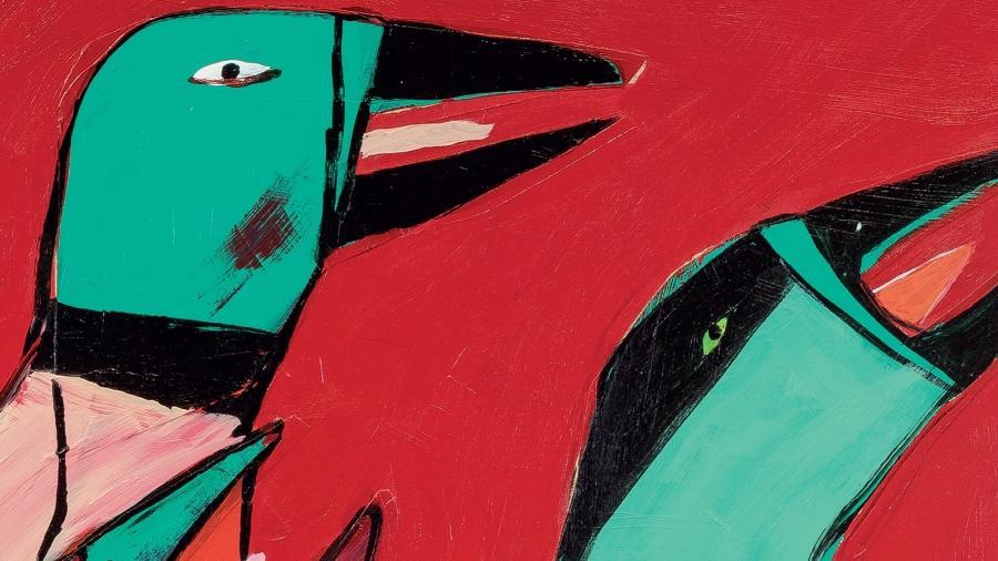 """Ilustração de """"A Fazenda dos Animais"""" - Vânia Mignone"""