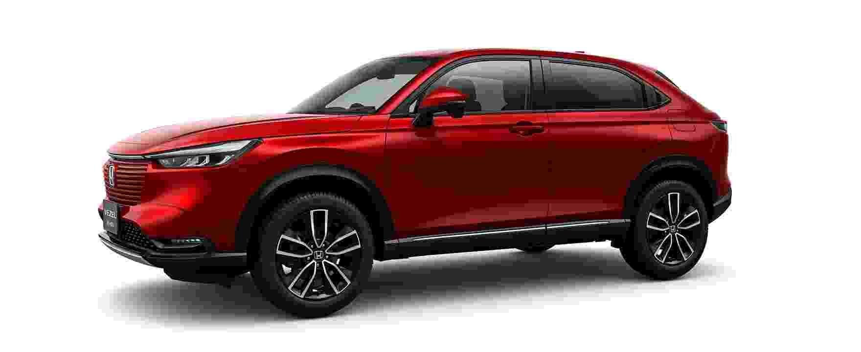 Nova geração do Honda HR-V - Divulgação