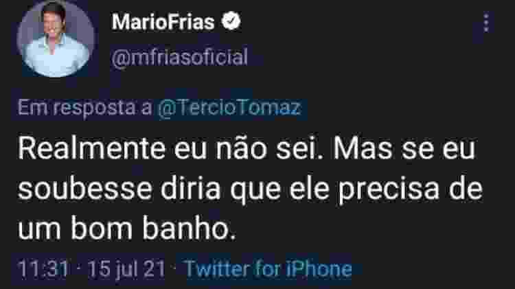 Mario Frias - Reprodução - Reprodução
