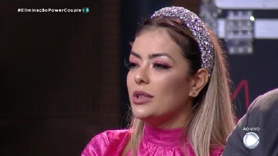 Power Couple: Li Martins revela estar magoada com Deborah - Reprodução/RecordTV