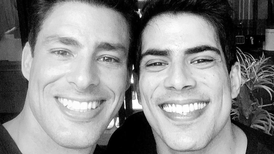 Cauã Reymond ao lado do irmão Pável - Reprodução/Instagram