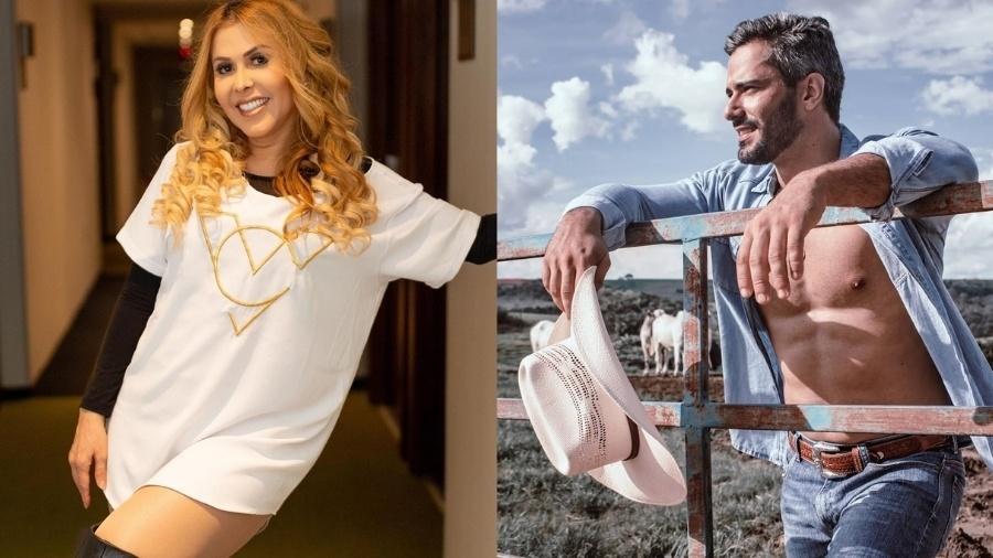 Joelma tem deixado alguns comentários nas fotos do modelo Ewerton Martins - Reprodução/Instagram