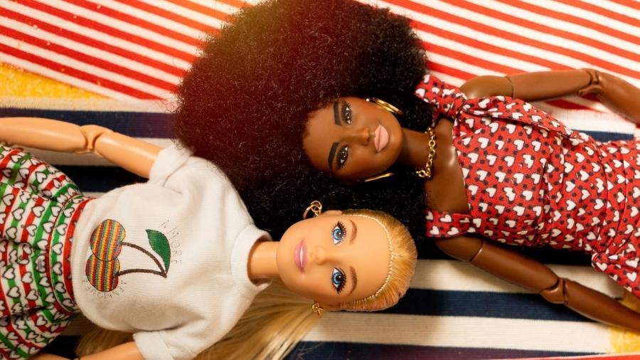 A coleção inspirada pela diversidade para Barbie foi assinada por Alessandro Enriquez - Divulgação