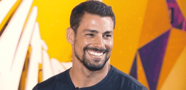 """O ator Cauã Reymond, que cancelou participação no """"Domingão do Faustão"""" - Reprodução/TV Globo"""