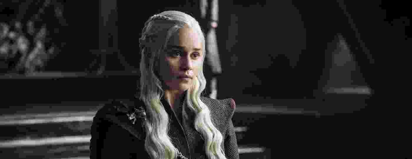 """Daenerys Targaryan (Emilia Clarke) em cena da sétima temporada de """"Game of Thrones"""", da HBO  - Divulgação/HBO"""