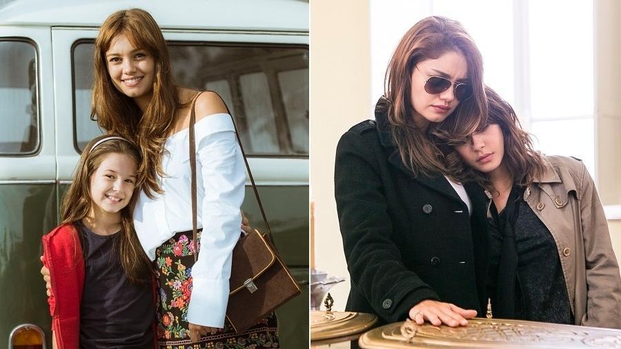 """Sophie Charlotte com Letícia Braga (à esquerda) e Julia Dalavia em """"Os Dias Eram Assim"""" - Divulgação/TV Globo"""