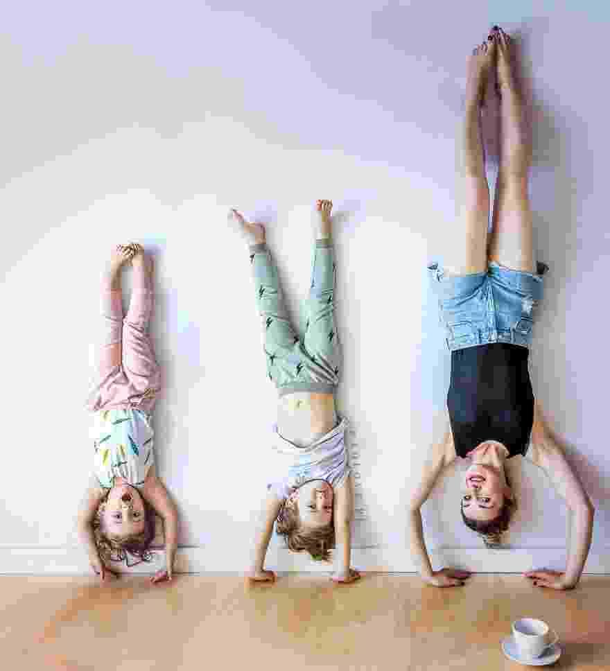 Ania, do site Lolove, e os filhos - Reprodução/Lolove
