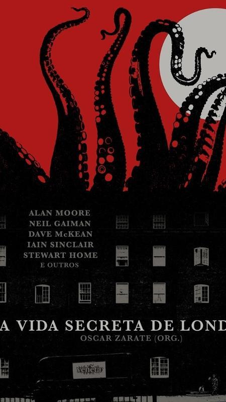 """Capa do livro """"A Vida Secreta de Londres"""" - Divulgação"""
