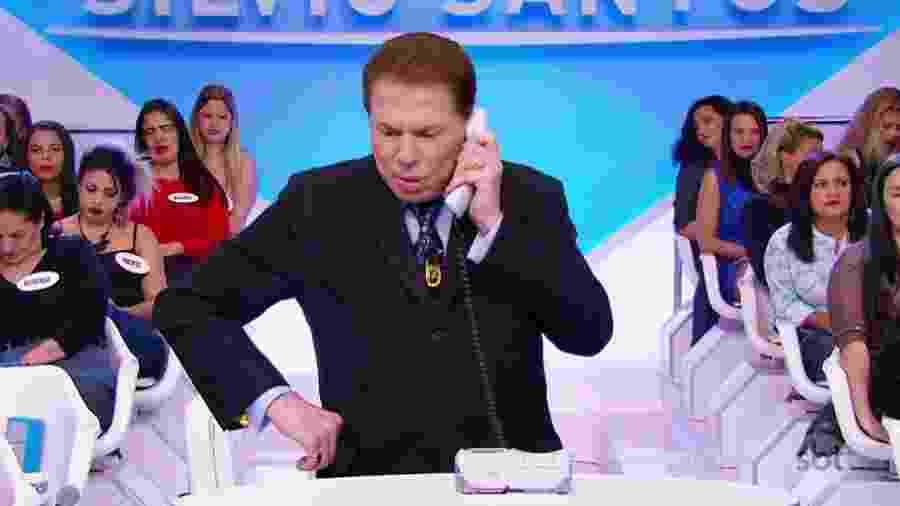 """Silvio Santos: """"a televisão é minha. Nela faço o que bem entender""""  - Reprodução/SBT"""