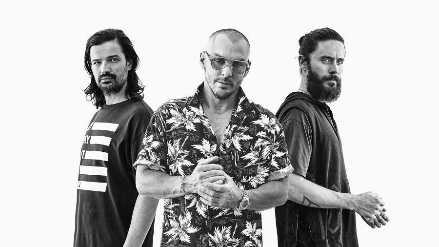 Banda 30 Seconds to Mars - Divulgação