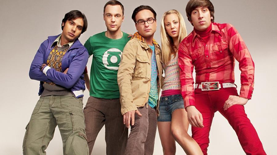 """O elenco principal de """"The Big Bang Theory"""" - Divulgação"""