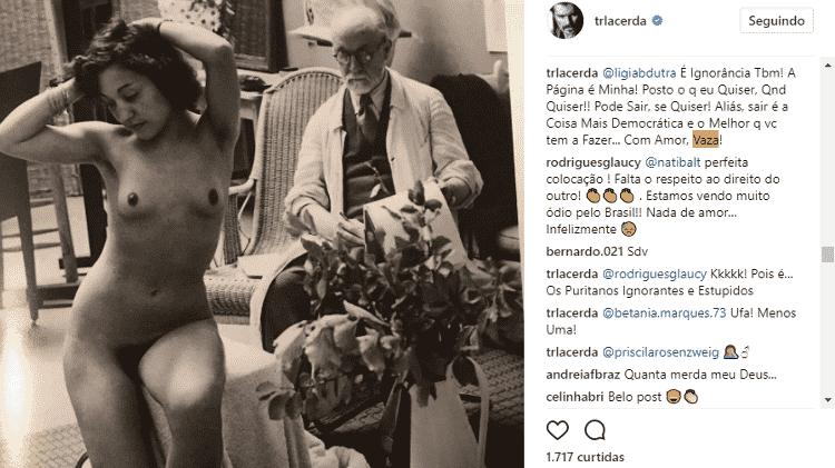 Thiago Lacerda discute com seguidores - Reprodução/Instagram - Reprodução/Instagram