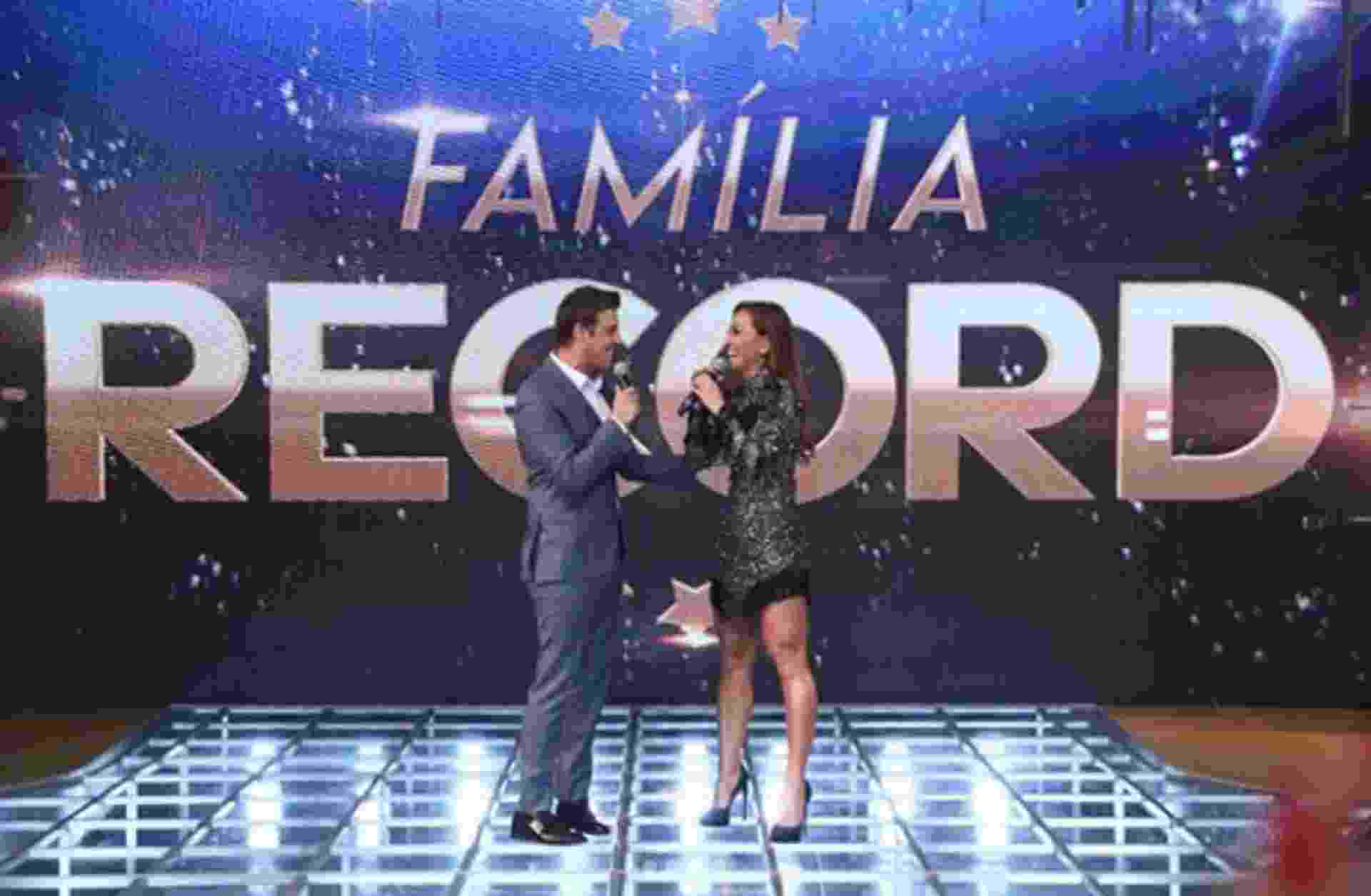 Família Record - Divulgação/TV Record