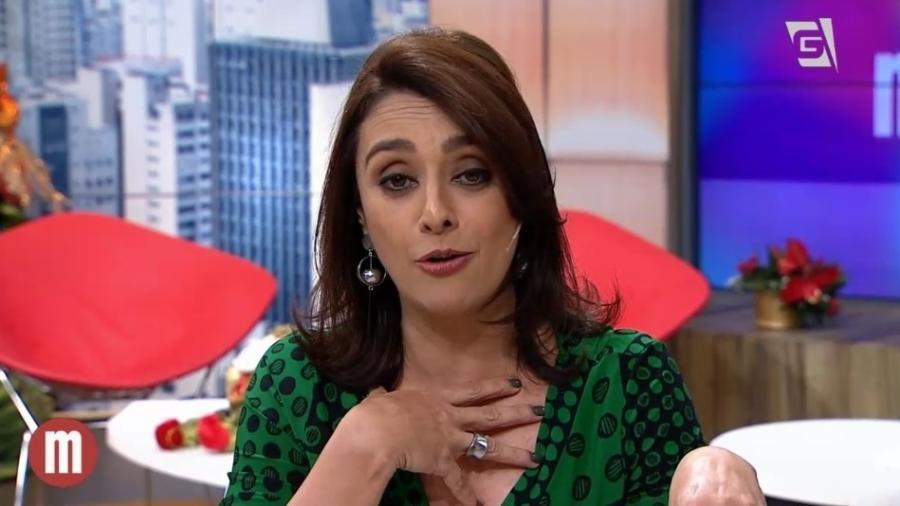 """Catia Fonseca se despede do """"Mulheres"""", programa que apresentou na Gazeta durante 15 anos - Reprodução/TV Gazeta"""