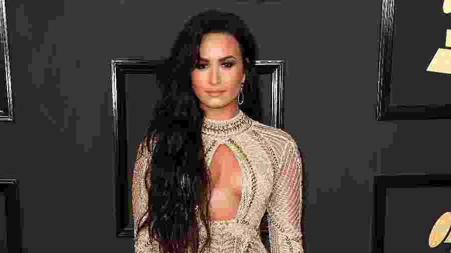 A cantora Demi Lovato, que está internada nos Estados Unidos desde o dia 24 de julho - Getty Images