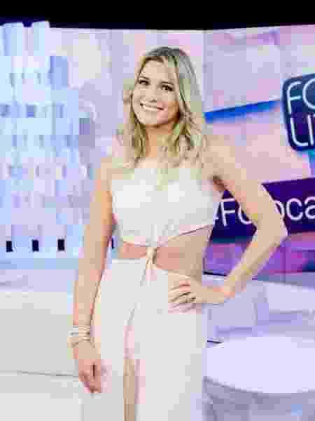 """Lívia Andrade é uma das apresentadoras do """"Fofocalizando"""" - Gabriel Cardoso/SBT"""