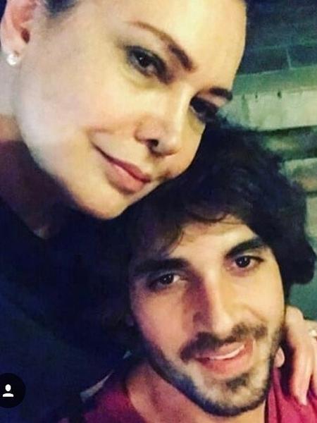 Fiuk com a mãe, Cristina Karthalian - Reprodução/Instagram