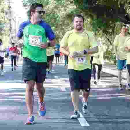 Guilherme, infarto, corrida, percurso - Arquivo pessoal - Arquivo pessoal