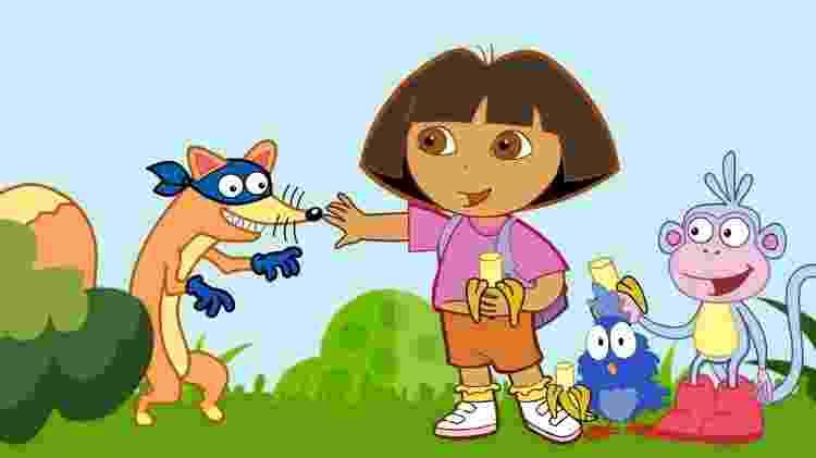 """Cena do desenho """"Dora, A Aventureira"""" - Reprodução/YouTube - Reprodução/YouTube"""