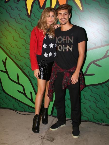 Sasha e namorado vão juntos ao Lollapalooza, em São Paulo - Thiago Duran/AgNews