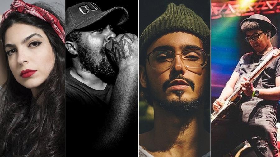 Illy, Baco Exu do Blues, Kafé, Àttøøxxá e Ludji Luna dão a cara da nova música baiana - Divulgação
