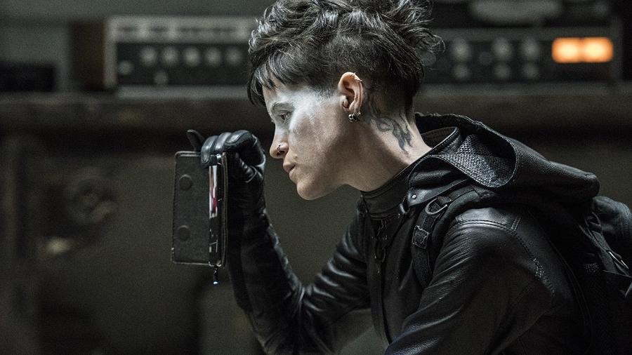 Claire Foy em A Garota na Teia de Aranha - Divulgação