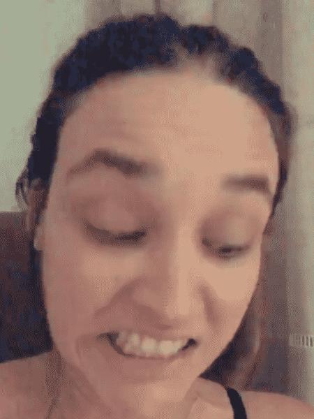 Débora Nascimento amamenta Bella - Reprodução/Instagram - Reprodução/Instagram