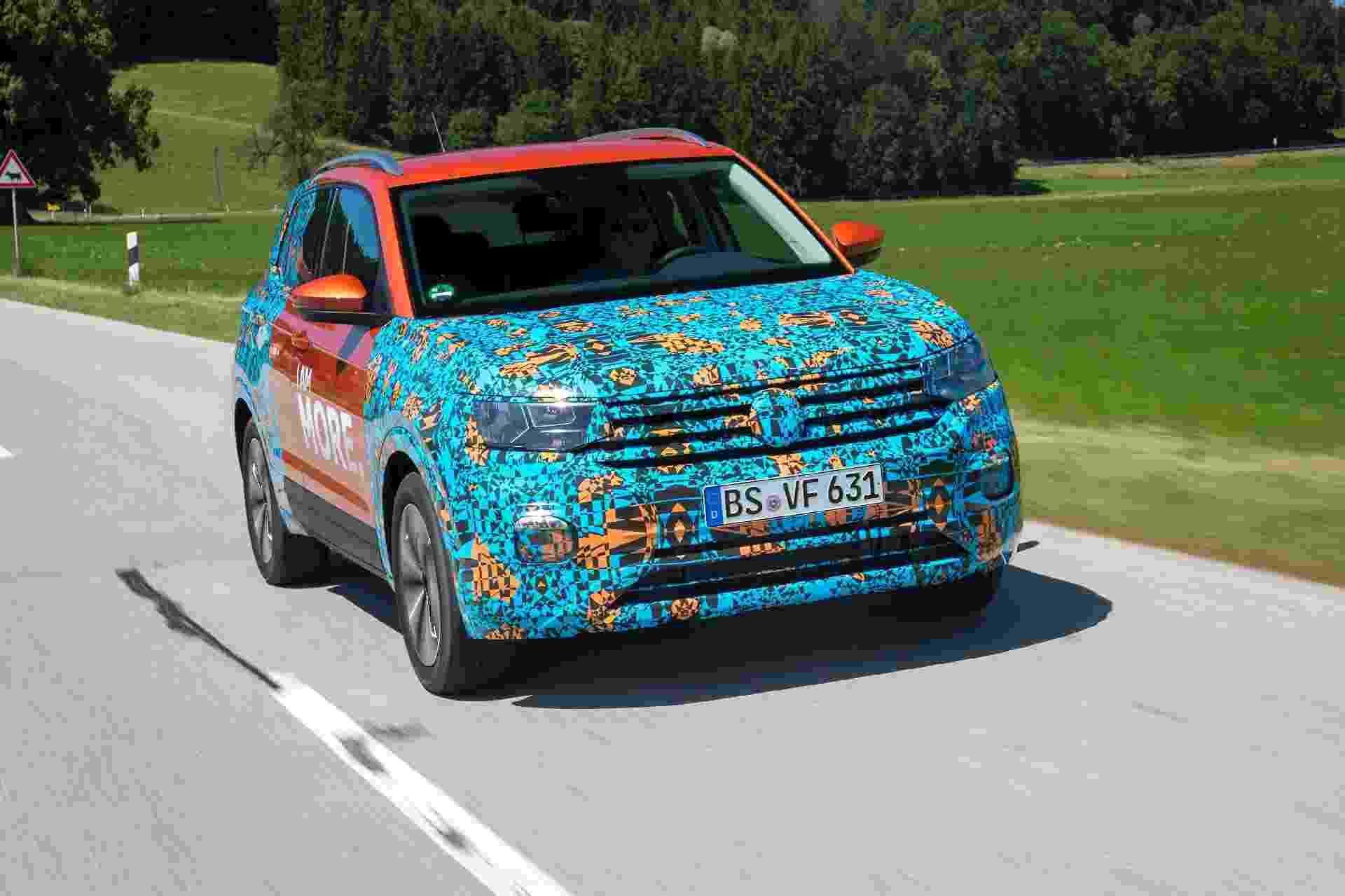 Volkswagen T-Cross Alemanha - Divulgação