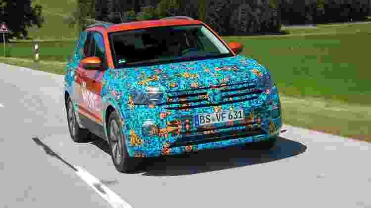 VW T-Cross Europa teste - Divulgação - Divulgação