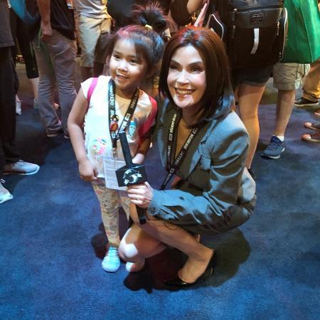 Teri Hatcher vai à Comic-Con de San Diego vestida como Lois Lane - Reprodução/Instagram