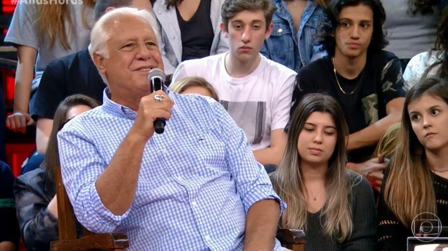 """Antonio Fagundes falou de sua biografia no """"Altas Horas"""" - TV Globo"""