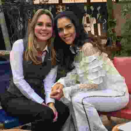 """Rachel Sheherazade será a convidada de Daniela Albuquerque no """"Sensacional"""" da Rede TV! - Divulgação/Rede TV!"""