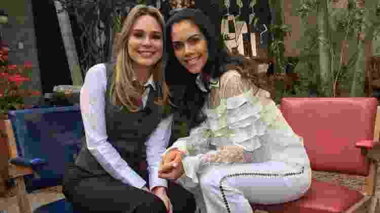 Rachel Sheherazade e Daniela Albuquerque - Divulgação/Rede TV! - Divulgação/Rede TV!