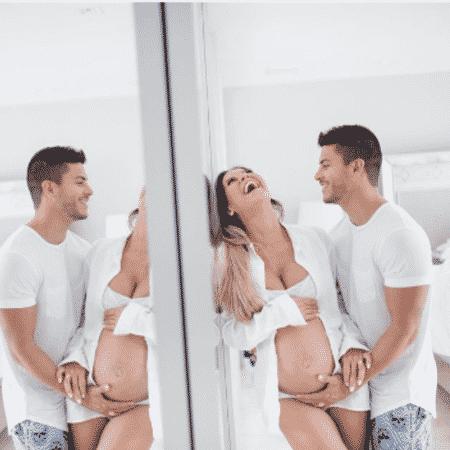 Mayra Cardi e Arthur Aguiar - Reprodução/Instagram