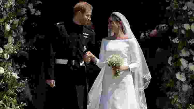 Casamento do príncipe Harry e Meghan Markle em 2018 - Jane Barlow - WPA Pool/Getty Images - Jane Barlow - WPA Pool/Getty Images