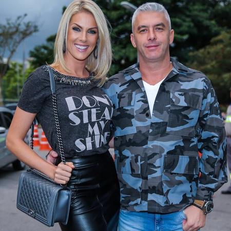 Ana Hickmann e o marido, Alexandre Correa - Reprodução/Instagram