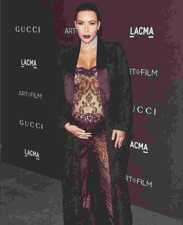 Looks pelados de Kim Kardashian - Reprodução/Instagram